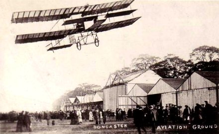 Aero Doncaster: Biplane at Doncaster Aviation Ground
