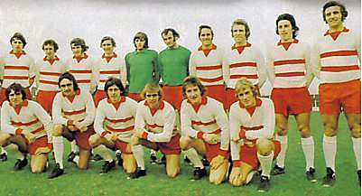 Doncaster Rovers Team Photos: DRFC Team Photo 1972-73