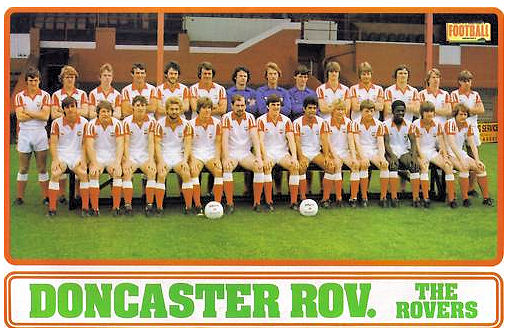 Doncaster Rovers Team Photos: DRFC Team Photo: 1980-81
