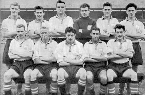 Doncaster Rovers Team Photos: DRFC Team Photo: 1952-53