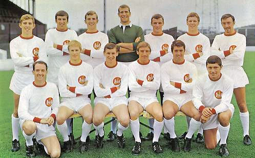 Doncaster Rovers Team Photos: DRFC Team Photo: 1968-69