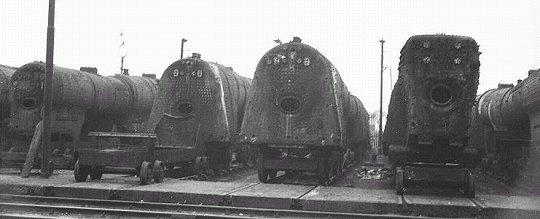 The Railways: Spare Boilers