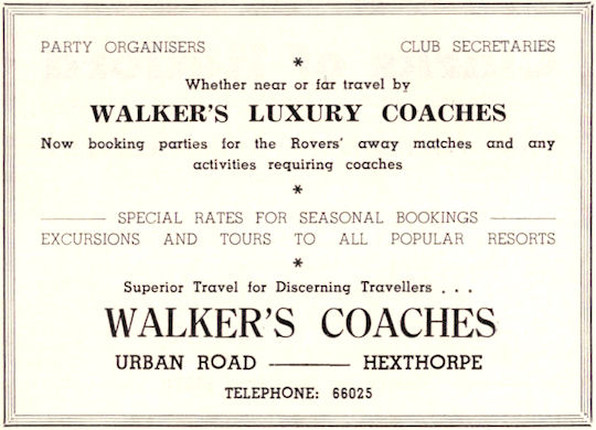 Vintage Ads: 1971 Walker's Luxury Coaches