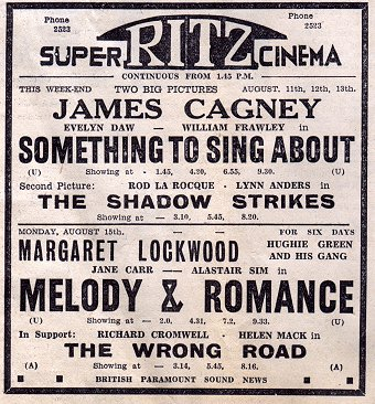Vintage Ads: Super Ritz Cinema